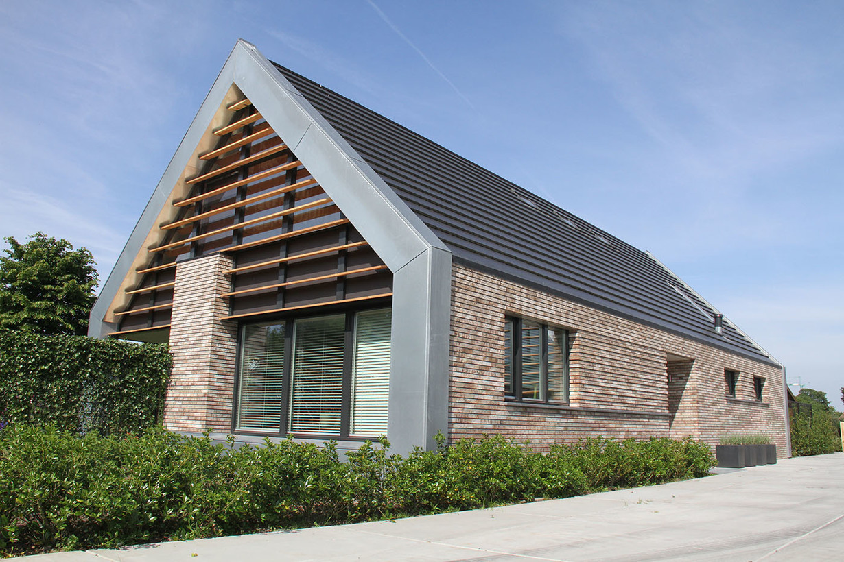 Constructiebureau keetels woning te veghels buiten - Architettura case moderne idee ...